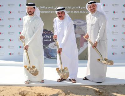 ENOC breaks ground on Expo 2020 Dubai pavilion under theme 'Reimagine Energy'