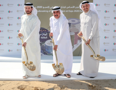 ENOC breaks ground on Expo 2020 Dubai pavilion under theme 'Reimagine Energy'