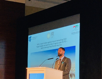 'It's been a hectic year' says Elesar Abu Zayed of NAFL at Leaders in Logistics 2019