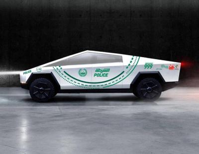 Dubai Police's next supercar: Tesla Cybertruck