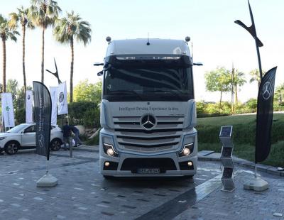 First semi-autonomous heavy vehicle tested on Dubai-Abu Dhabi road