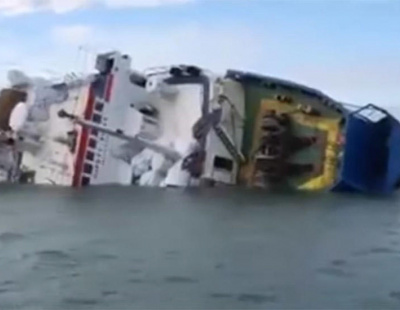 Ship bound for Saudi Arabia with 14,600 sheep aboard capsizes off Romania