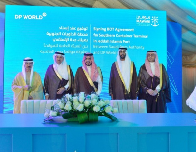 DP World awarded 30-year concession for the South Container Terminal at Jeddah Islamic Port