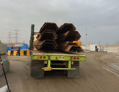 Al Bader Shipping handles breakbulk cargo on chartered vessel