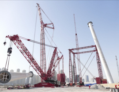 Mammoet lifts Dubai to greater heights with Ain Dubai