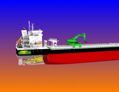 Wärtsilä to supply world's first hybrid powered self-discharging bulk carriers