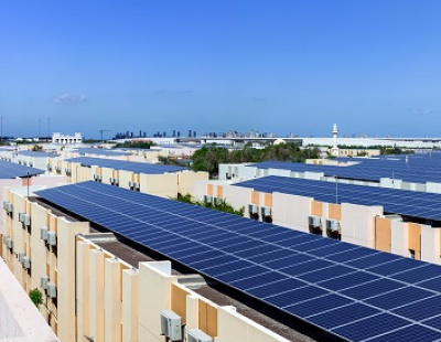 UAE-SirajPower commissions solar panels for DP World's residential project in Jafza