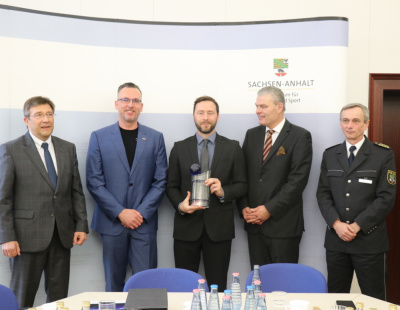 TAPA honours Project CARGO and the State Criminal Office of Saxony-Anhalt for their 'outstanding work' in dismantling organised crime groups involved in cargo thefts