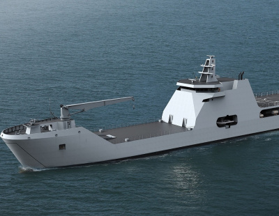 Damen holds keel-laying ceremony for Nigerian Navy landing craft