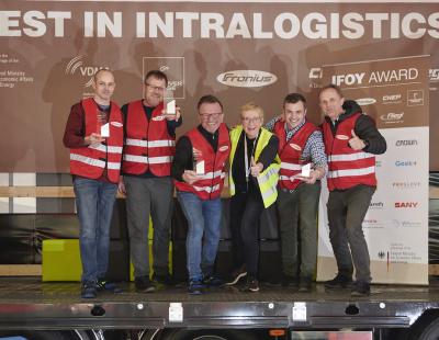 BMW forklift drivers test IFOY innovations