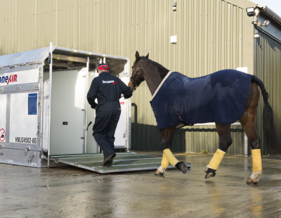 InstoneAir and LG Bloodstock fly competitors to Saudi Arabia for the world's richest horse race