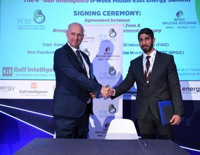 UAE's Fujairah and Brooge Petroleum reaffirm land lease agreement