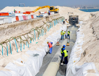 Dubai Maritime City completes over 25% of Phase 1 infrastructure for commercial development