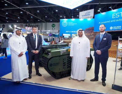 SABER Investment Company L.L.C and Milrem Robotics collaborate to develop unmanned ground systems for the United Arab Emirates