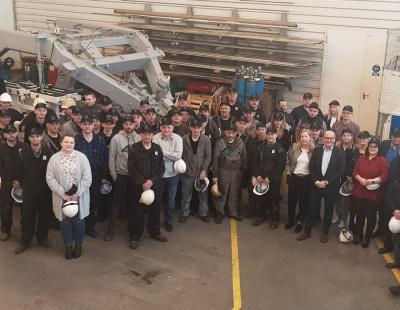 Vestdavit takes control of davit-building partner Tritec Production