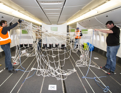 Air Canada reconfigures 777 cabins for cargo operations