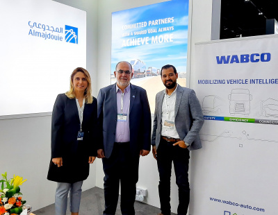Almajdouie Logistics ties up with WABCO to equip its fleet with advanced telematics solutions
