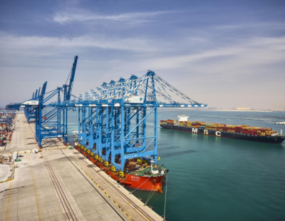 Abu Dhabi Terminals receives five new ship-to-shore cranes