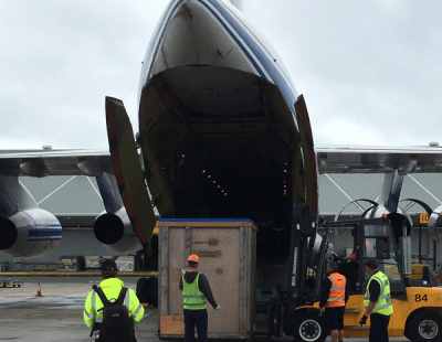 Kuehne+Nagel teams with Volga-Dnepr in UK-Russia turbine lift