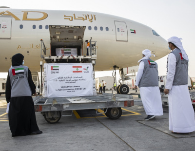 Etihad carries 16 tonnes of UAE aid to rocked city Beirut