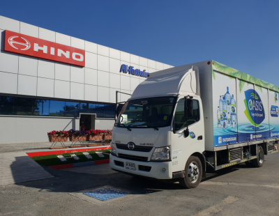 National Food Product Company takes delivery of 200 new HINO trucks