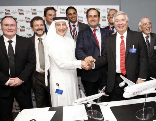 Qatar Airways, Airbus kiss and make up with $6.5b order