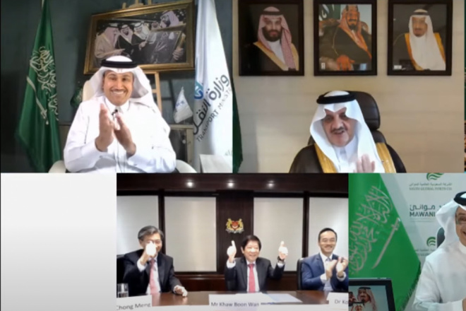 MAWANI signs Saudi's largest BOT deal virtually