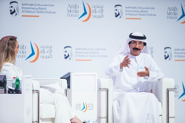 The results of the study, entitled 'Diversity in the Workplace', were revealed by DP World Group chairman and CEO, Sultan Ahmed Bin Sulayem at the 16th edition of the Arab Media Forum (AMF).
