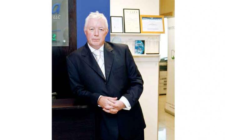 Andrew Granger, ME Regional General Manager, Logistica