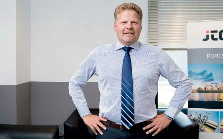 Andreas Mohr, former chief executive officer, Jassim Transport & Stevedoring Company.