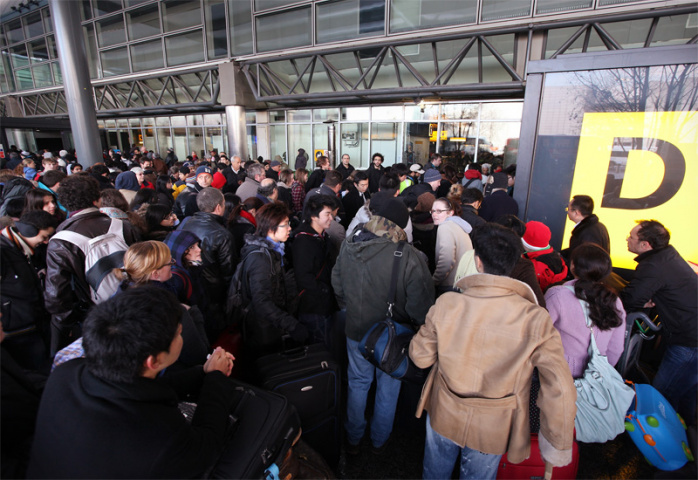 Hundreds of flight were cancelled and thousands of passengers stranded at Heathrow this week.