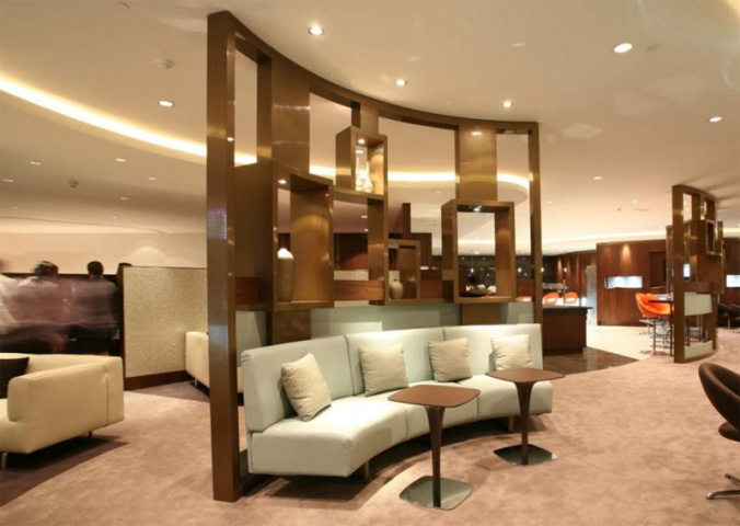 Priority Pass's new apps help travellers find an airport lounge (An Etihad lounge is pictured).