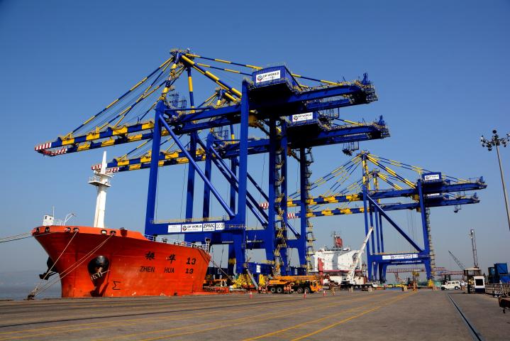 "DP World Nhava Sheva has managed to maintain normal operational efficiency at the port despite ""natural and man-made crises""."