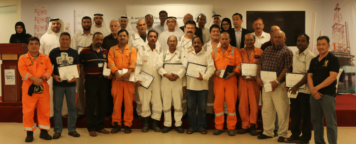 Drydocks World celebrated alongside valued employees and gave special recognition to those who joined with Drydocks World at the yard's inception.