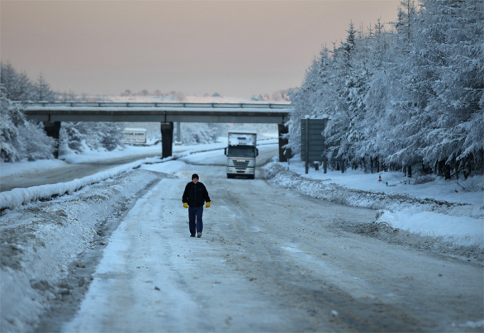 Britain is not set up to deal with cold winters (Jeff Mitchell/Getty Images).