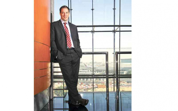 Bryan Moulds, Middle East general manager, TNT Express
