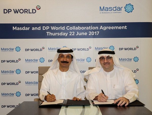 Masdar will work with DP World to address challenges related to the delivery of sustainable, reliable and cost effective power generation, with a particular focus on areas that are remote or off-grid.