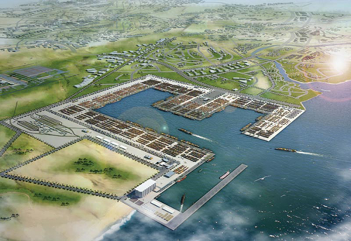 King Abdullah Economic City - Millennium Seaport, Saudi Arabia