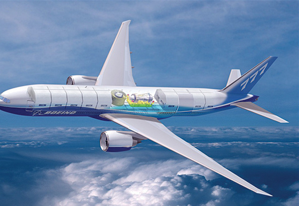 Inside view: Boeing?s new freighter is due early 2008.