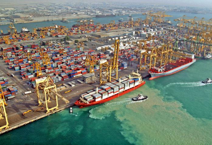 Expansion of Jebel Ali Port Terminal 4, Dubai, UAE
