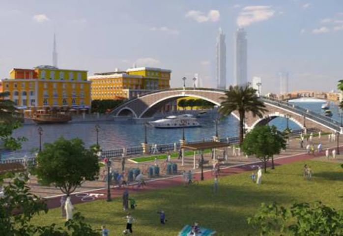 Phase 3 Dubai Canal Extension Project, Dubai, UAE