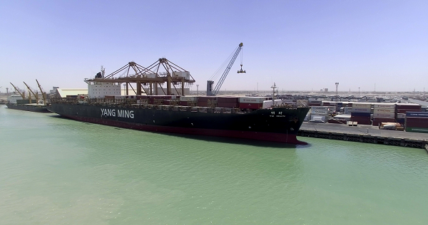 The company deployed the YM Wealth for the China Gulf Express (CGX) service on a revised route that now includes a call at the Umm Qasr Port, offering a direct connection between the Far East and Iraq.