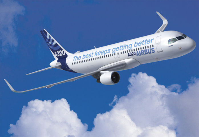 The A320neo offers new engines and contraptions on its wings known as 'sharklets'.