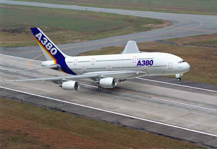 Iran Air has ordered 12 A380 super jumbos as part of the deal.