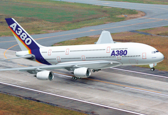 Airbus now has 234 orders for the A380, based on end of February figures.