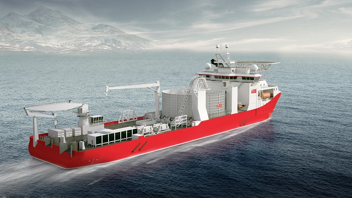 New state-of-the-art cable ship to boost capacity and flexibility; key ABB marine technologies on-board.