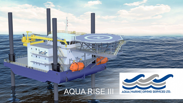 Due for delivery in 2018, it will be used primarily to deliver offshore support services, including the provision of accommodation facilities for personnel as well as operating as a work platform with crane facilities.