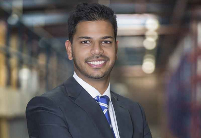 Abhishek Ajay Shah, managing director, RSA Logistics.