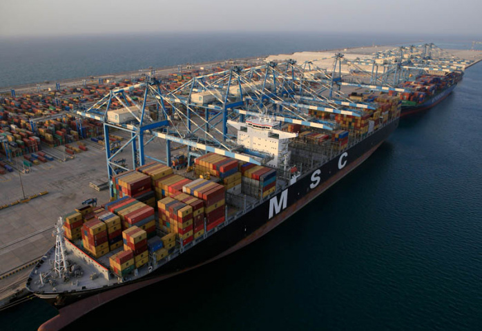 Abu Dhabi Terminals' Khalifa Port is the fastest-growing port in the Middle East.