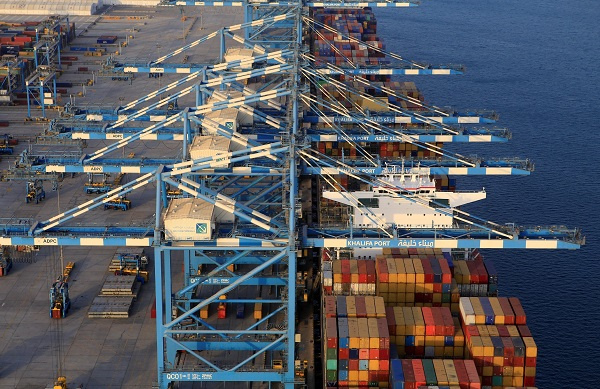 Abu Dhabi Ports has announced plans to expand Khalifa Port container terminal by adding a 1,000-metre quay wall, and to deepen the port's channel and basin to 18 meters.